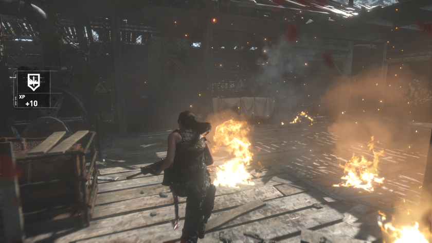 Rise of the Tomb Raider Fire