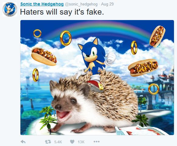 Sonic is insane