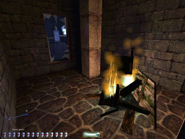 7666-thief-ii-the-metal-age-windows-screenshot-lonely-fire-during