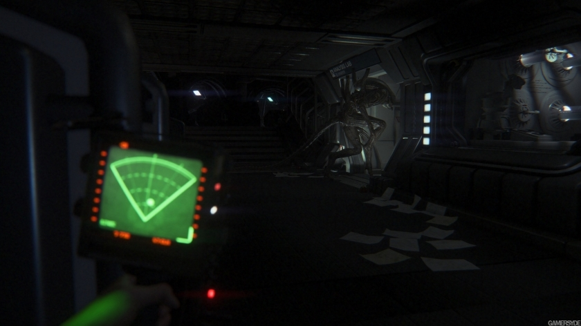 Alien Isolation motion tracker