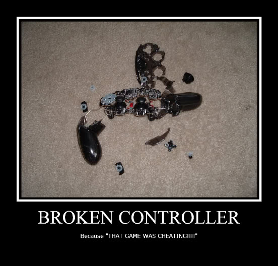 Broken Controller