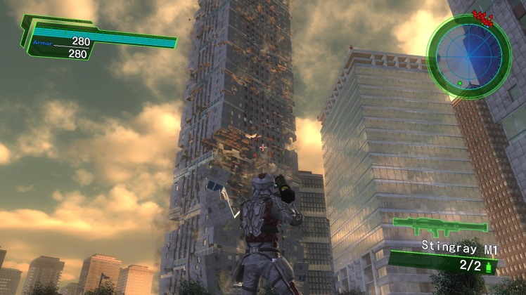 Earth Defense Force 4.1: The Shadow of New Despair Environments 2