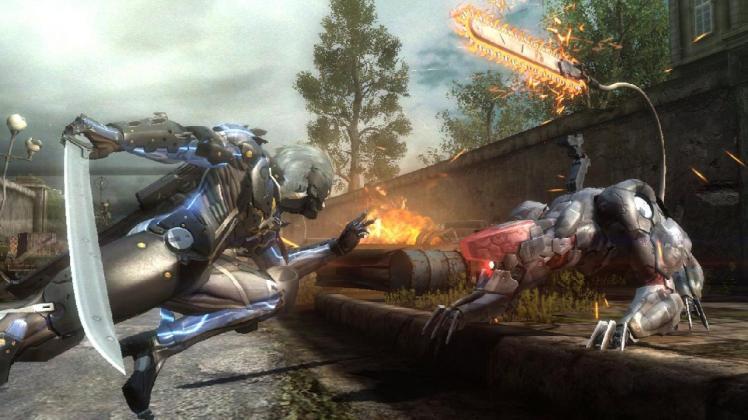 Metal Gear Rising Blade Wolf