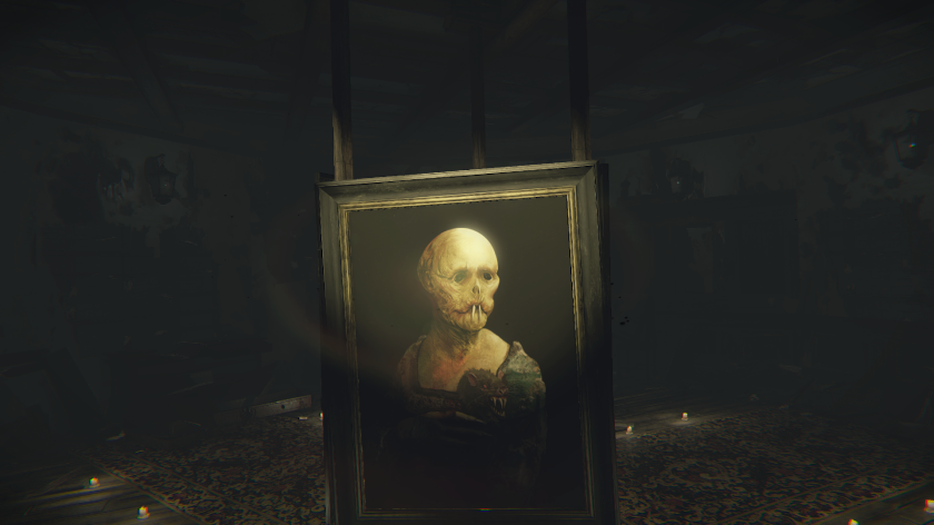 Layers of Fear Art Work