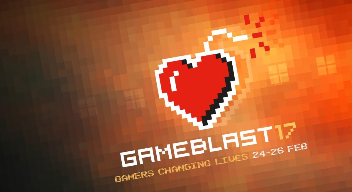 Gameblast 17 – 24 Hour Charity GamingMarathon!