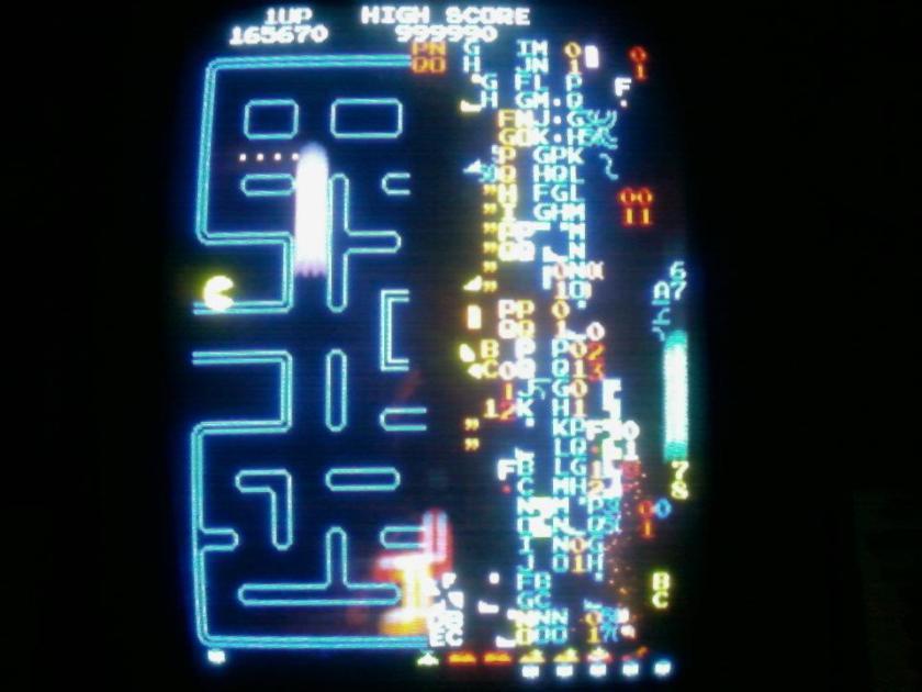 Pac Man Kill Screen