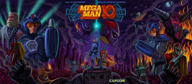 Mega Man 10 logo