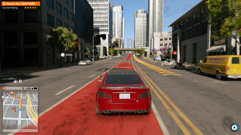 Watch Dogs 2 car driving
