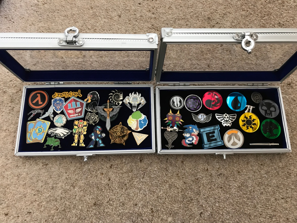 A New Lapel Pin – I think I may have aproblem.