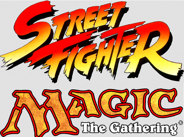 Street Fighter Magic the Gathering